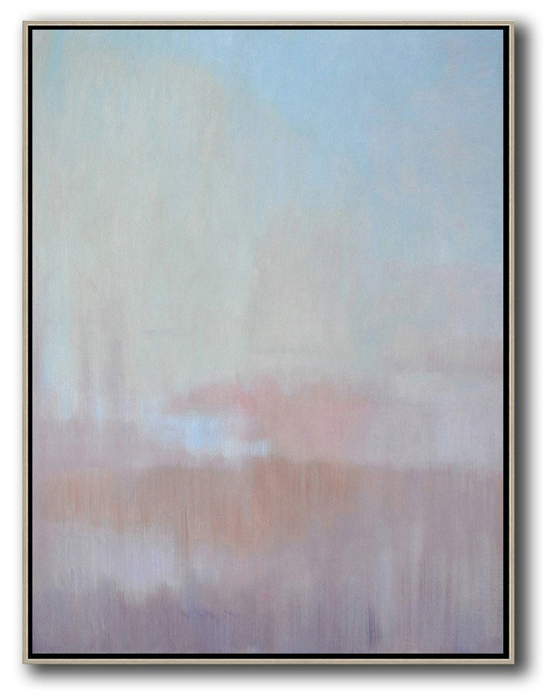 Abstract Art To Print,Extra Large Canvas Art,Oversized Abstract Landscape Painting,Modern Canvas Art,Pink,Purple,Blue.etc