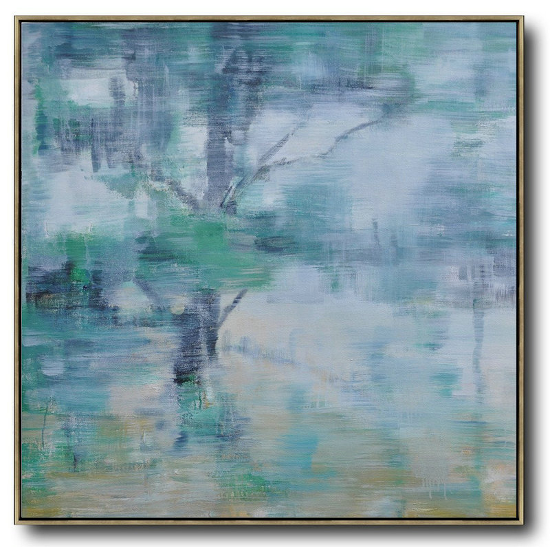Abstract Painting Pics,Large Abstract Art Handmade Painting,Oversized Abstract Landscape Oil Painting,Huge Abstract Canvas Art,Gray,Green,White.etc