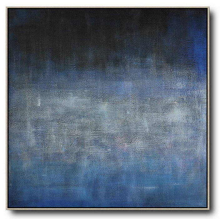 Sell Your Art Online,Abstract Painting Extra Large Canvas Art,Oversized Contemporary Painting,Hand Painted Abstract Art,Dark Blue,Black,Grey.etc