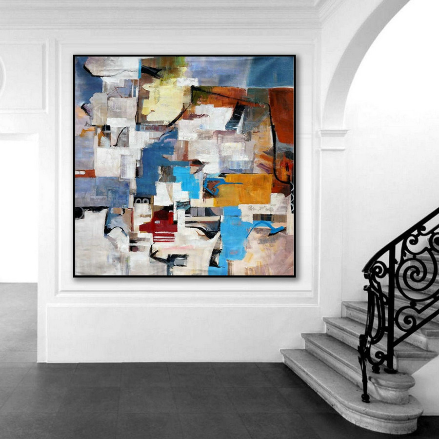 two story foyer wall decorating ideas,wall art simple designs,modern contemporary wall art,blue boy bedroom ideas,rainbow abstract art,cheap large painting canvas,abstract pig painting,cream and beige living room ideas,L7v0