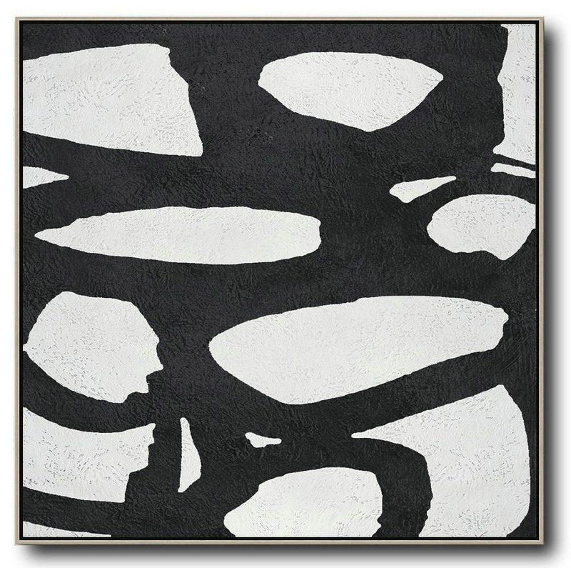 Purchase Canvas For Painting,Large Abstract Art,Oversized Minimal Black And White Painting - Extra Large Canvas Painting